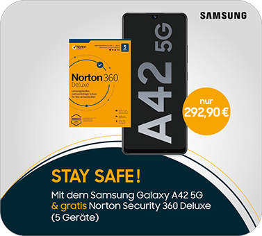 Samsung A42 + Norton Security